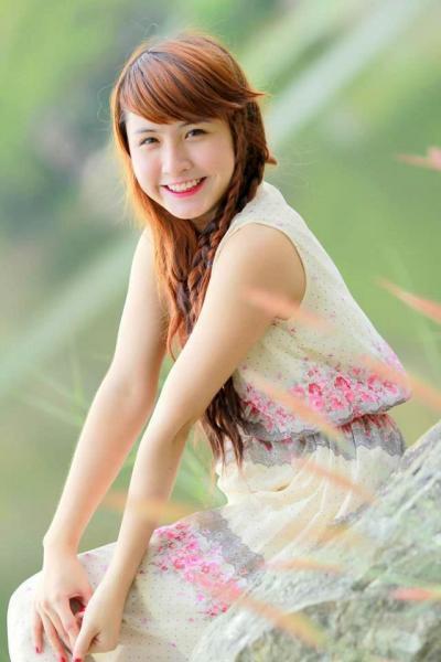 Nụ cười thiên thần của thiếu nữ Cẩm Vân