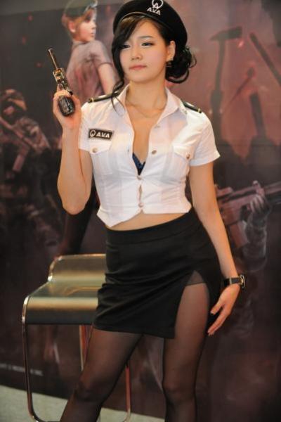 Promotion Girl sexy trong triển lãm công nghệ và game