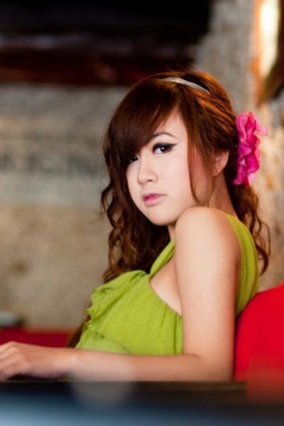 Hinh nen girl xinh, dang yeu