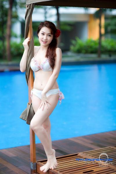 Lộ hàng gái đẹp Đăng Thư, gái đất cảng trắng xinh